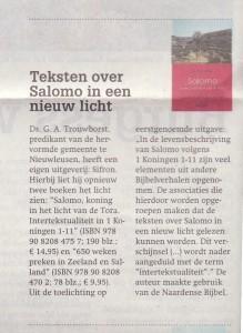 BoekaankondigingSalomoReformatorischDagbladb